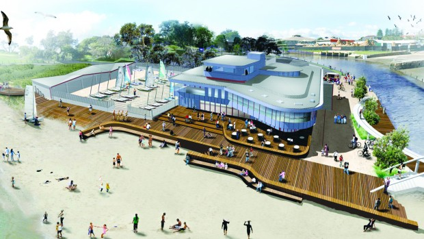 Cool New Addition To Waterfront Plan Bayside Newsbayside News Largest Home Design Picture Inspirations Pitcheantrous