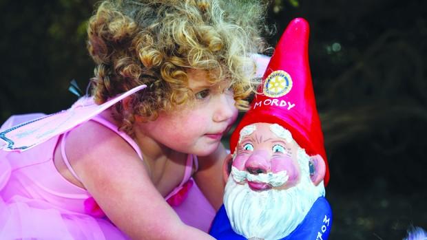 Gnome and Fairy festival.
