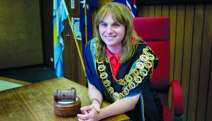 Councillors assemble: Frankston mayor Sandra Mayer was one of three council representatives to attend the National General Assembly in Canberra.