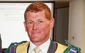 Geoff Gledhill new Mayor of Kingston.