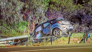 Make it safe:  An online petition is demanding a roundabout be installed at the Robinsons Rd-Western Port Hwy intersection after a fatality last month. Picture: Gary Sissons