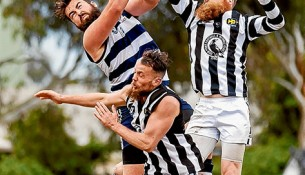 Magpies set to fly: If they can hold on to players, Crib Point is set for a great 2016. Picture: Andrew Hurst
