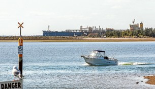 Port in waiting: The number of ships coming into the Port of Hastings hovers around 50 a year and is likely to stay that way unless it is developed as the state's next container port. Picture: Gary Sisons