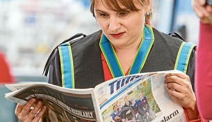 Read all about it: Frankston mayor Cr Sandra Mayer is a newly appointed anti-bullying advocate. Pic: Gary Sissons