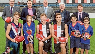 Saints' new old home: St Kilda FC is heading back to Moorabbin as part of a redevelopment of Moorabbin Reserve after ditching its Seaford base. Picture: Gary Sissons