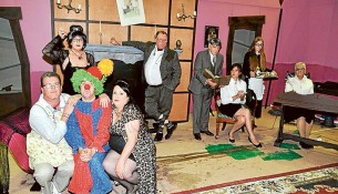 Kooks and spooks: The Tomb Family will gather at Mt Eliza Community Centre later this month.