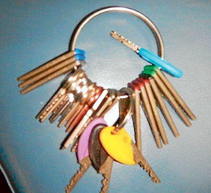 items keys found SPN
